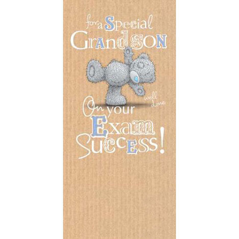 Grandson Exam Congratulations Me to You Bear Card  £1.89