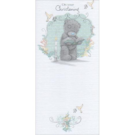 On Your Christening Me to You Bear Card  £1.89