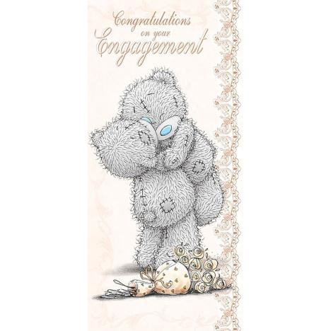 Engagement Congratulations Me to You Bear Card  £1.89