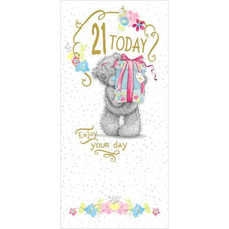 21 Today 21st Birthday Me to You Bear Card  £1.89