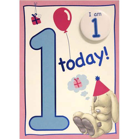 1 Today Birthday My Blue Nose Friend Card  £1.70