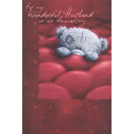 Wonderful Husband Anniversary Me to You Bear Card  £2.40