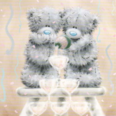 Engagement Me to You Bear Card  £2.40