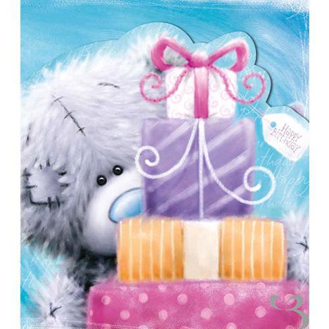 Tatty Teddy with Gifts Birthday Me to You Bear Card  £1.80