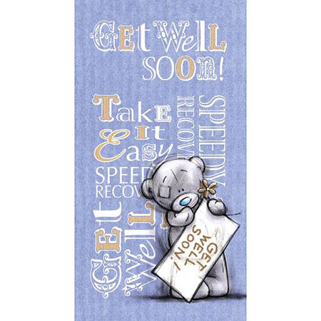 Get Well Me to You Bear Card  £2.19