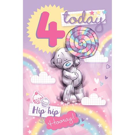 4 Today Me to You Bear 4th Birthday Card  £1.79