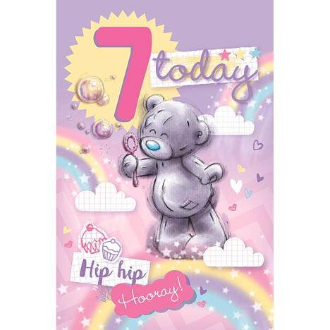 7 Today Me to You Bear Birthday Card  £1.79