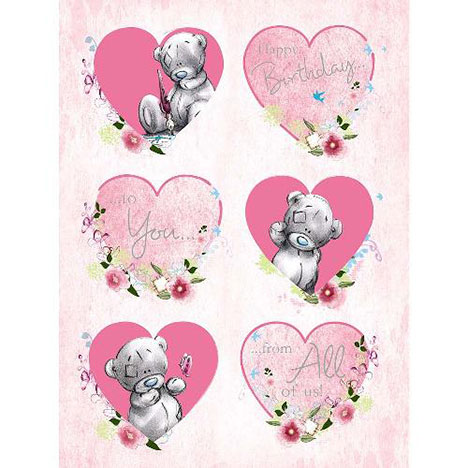 Happy Birthday from All of Us Large Me to You Bear Card  £3.59
