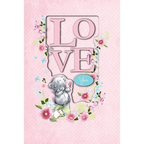 Love You Me to You Bear Card  £3.79