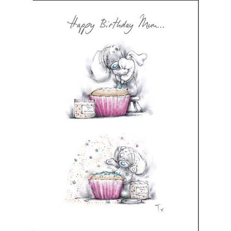 Mum Sketchbook Me to You Bear Birthday Card  £1.79