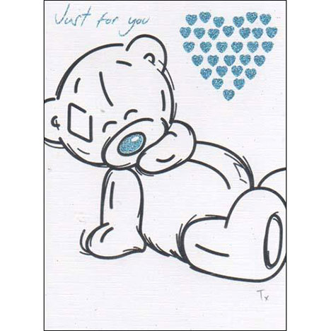 Just for You Sketchbook Me to You Bear Card  £1.60