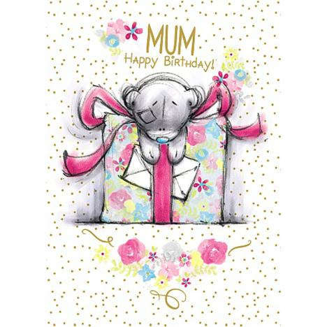 Mum Happy Birthday Me to You Bear Card  £1.79