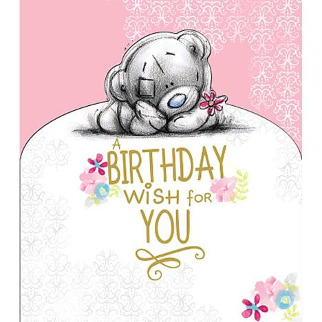 Birthday Wish For You Me to You Bear Card  £2.19