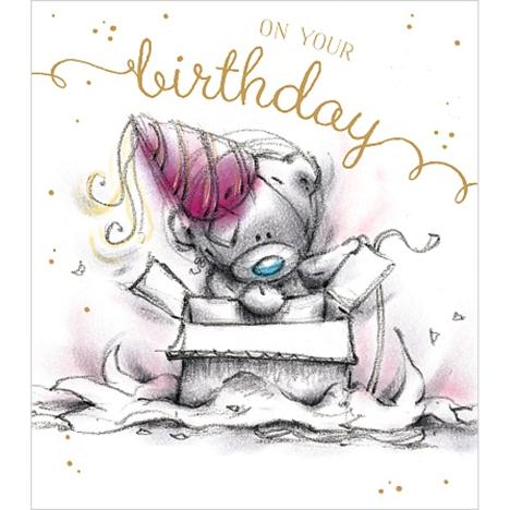 On Your Birthday Sketchbook Me to You Bear Birthday Card  £1.89