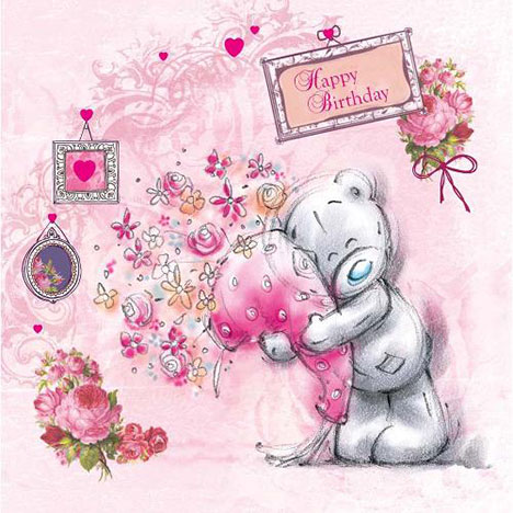 Happy Birthday Sketchbook Me to You Bear Card  £1.95