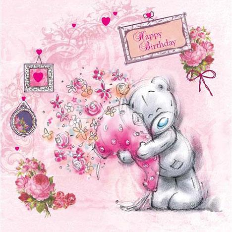 Happy Birthday Sketchbook Me to You Bear Greeting Card New Gift – Tatty Teddy Birthday Cards