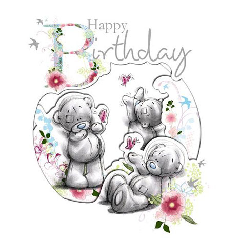 Happy Birthday Me to You Bear Card  £2.99