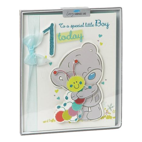 1st Birthday Boy Me to You Bear Handmade Boxed Card  £6.99