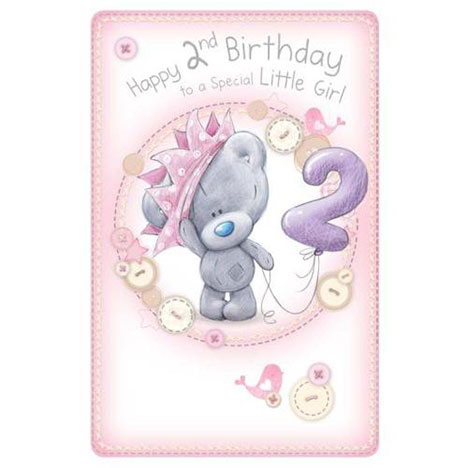 2nd Birthday Tiny Tatty Teddy Me to You Bear Card  £1.69