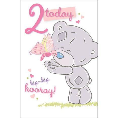 2 Today Tiny Tatty Teddy Me to You Bear Birthday Card  £1.79