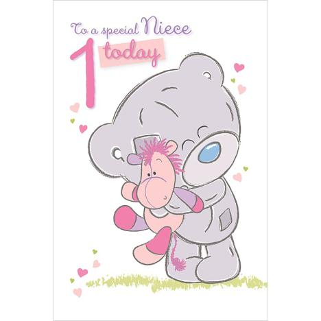 Niece 1st Birthday Me to You Bear Card  £2.49