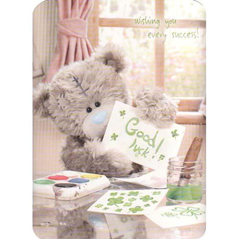Good Luck Me to You Bear Card  £3.45