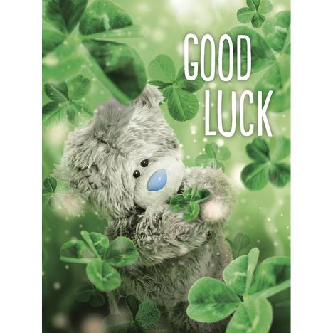 Good Luck Photo Finish Me to You Bear Card  £3.59