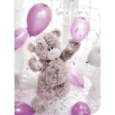 Special Sister Birthday Me to You Bear Boxed Card  £9.99