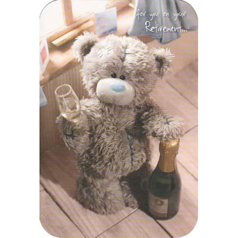 On Your Retirement Me to You Bear Card  £2.40