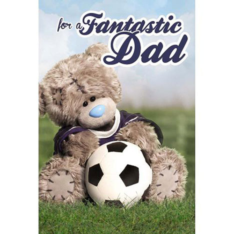 Dad with Football Me to You Bear Birthday Card  £2.49