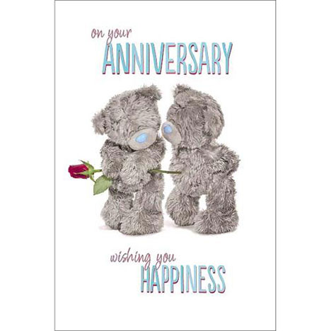 On You Anniversary Me to You Bear Card   £2.49