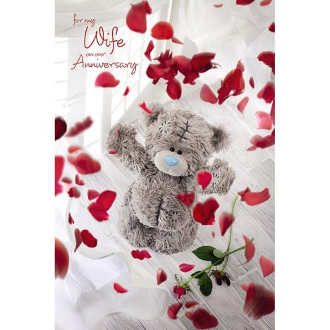 3D Holographic Wife Anniversary Me to You Bear Card  £3.59