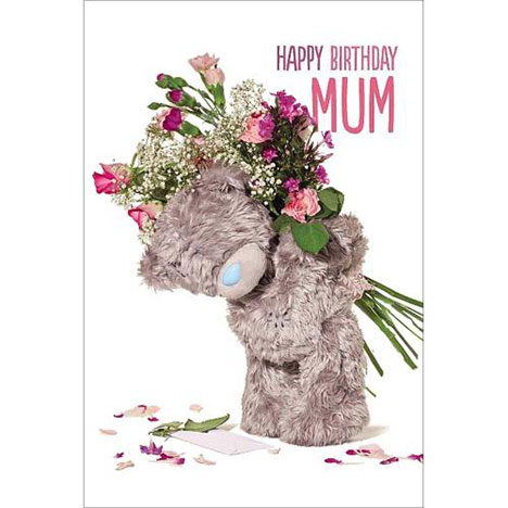 3D Holographic Mum Me to You Bear Birthday Card  £3.79