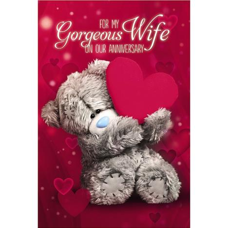 3D Holographic Wife Me to You Bear Anniversary Card  £3.79