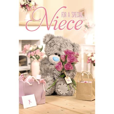 3D Holographic Special Niece Me to You Bear Birthday Card  £4.25