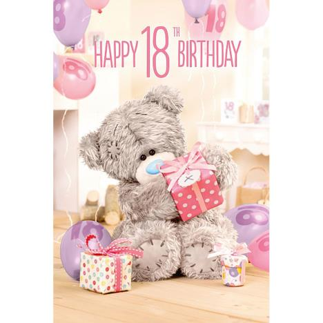 3D Holographic 18th Me to You Bear Birthday Card  £4.25