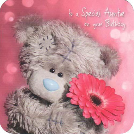 Auntie Birthday Me to You Bear Card  £1.95