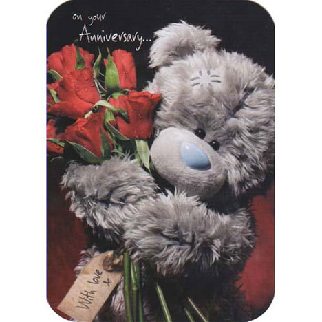 On Your Anniversary Me to You Bear Card  £1.60