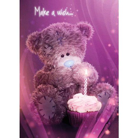 Tatty Teddy with Cupcake Birthday Me to You Bear Card  £1.60