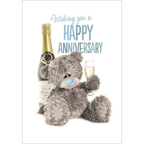 Happy Anniversary Me to You Bear Card  £1.79