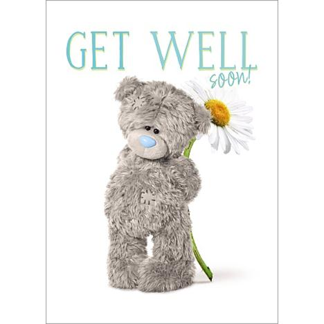 Get Well Soon Photo Finish Me to You Bear Card  £1.79