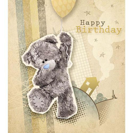 Tatty Teddy Holding Balloon Me to You Bear Birthday Card  £1.89