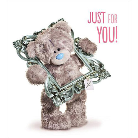 Just For You Birthday Me to You Bear Card  £1.89