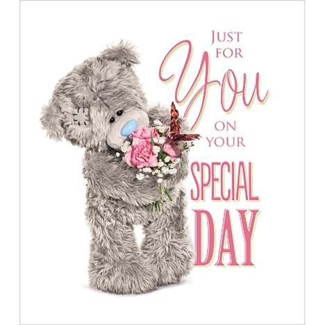 Just For You On Special Day Me to You Bear Card  £1.89