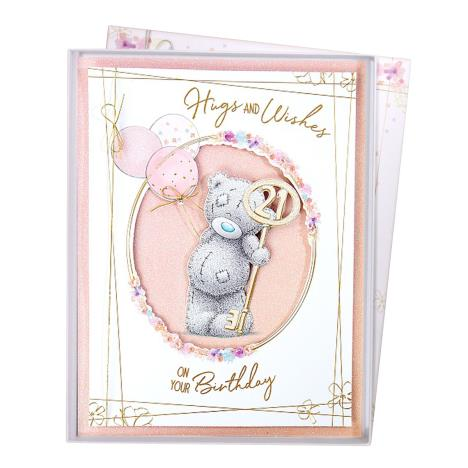 Hugs & Wishes 21th Birthday Me to You Bear Boxed Card  £9.99
