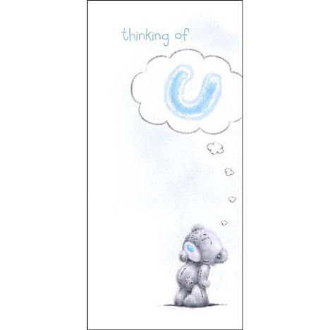 Thinking of U Me to You Bear Card  £1.89