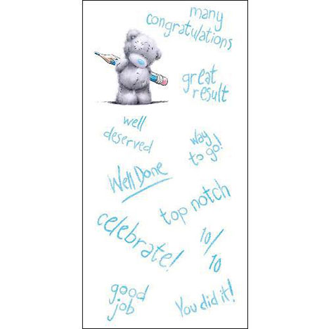 Congratulations Me to You Bear Card  £1.89