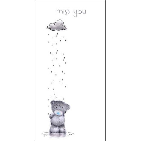 Miss You Me to You Bear Card  £1.89