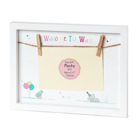 Tiny Tatty Teddy Peg Hanging Photo Frame  £7.99