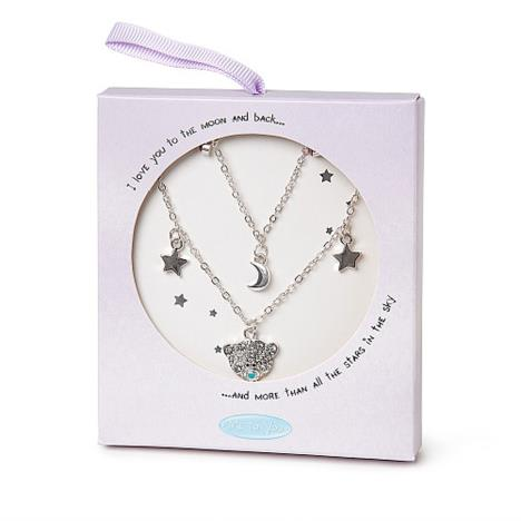 Me to You Bear Cluster 2 Row Necklace  £12.99